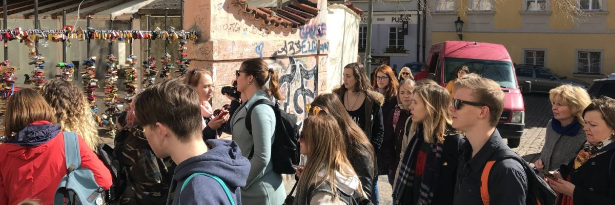 Výměna s ruskými studenty na Dobříši