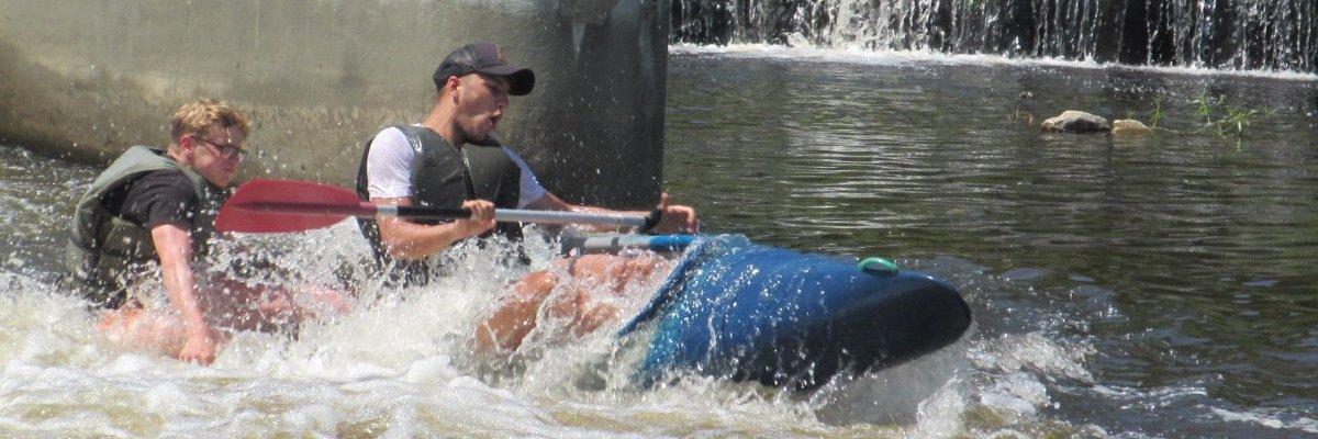 Vodácký kurz 3. ročníku